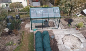 Greenhouse built