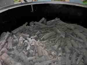 Charcoal lumpwood